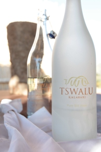 Tswalu's Bottled Water
